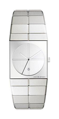 Jacob Jensen Icon Unisex-reloj analógico de cuarzo de acero inoxidable Jacob Jensen 212