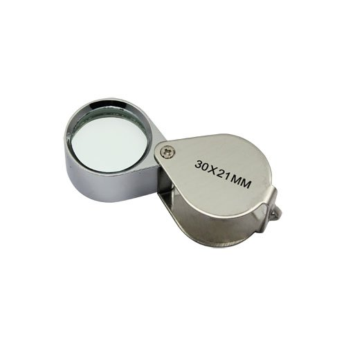 30X Jeweler Eye Loupe Loop Magnifying Magnifier 30x21mm