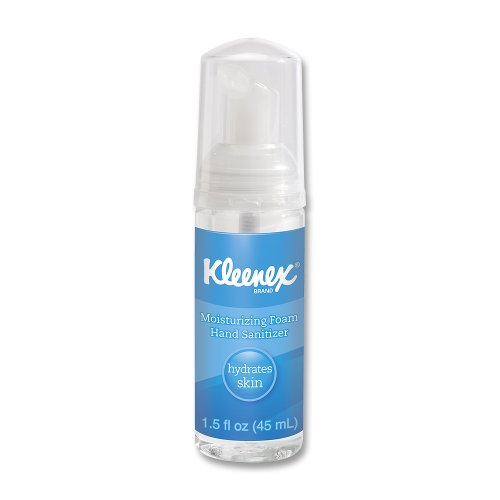 Kimberly Clark Kleenex Moisturizing Instant Hand Sanitizer (62%) 1.5Oz Bottle front-963680