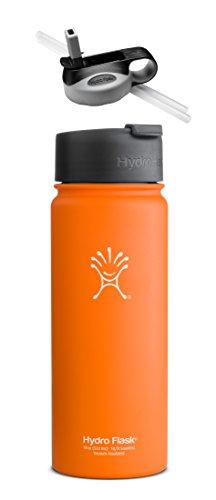 Orange Zest With Hydro Flip Lid & Straw Lid front-975193