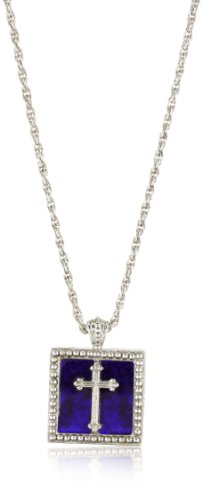 The Vatican Library Collection Square Cross Necklace