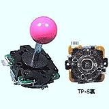 三和電子 ジョイスティック赤 JLF-TP-8Y-赤