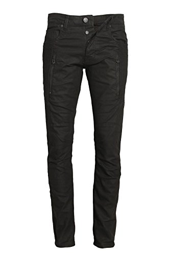 883 POLICE Cassady CE 395 Regular Fit Jeans | Black 34 Long