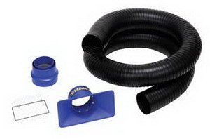Hakko C1571 FA-430 Exhaust Arm Kit with 1.2m Long Duct, Adapter, and Rectangular Nozzle