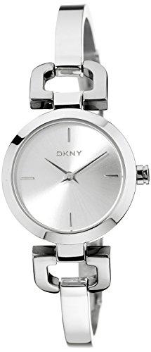 DKNY Women's NY8540 READE Analog Display Analog Quartz Silver Watch