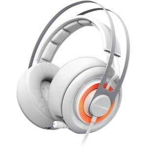 Steel Series Siberia Elite Headset Stereo - White - Mini-Phone, Usb - Wired - 32 Ohm - 16 Hz - 28 Khz - Over-The-Head - Binaural - Circumaural - 3.94 Ft Cable / 51151 /