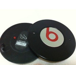 New Black Replacement Battery Cover For Beats By Dre Headphones Studio