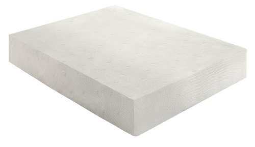 Sleep Innovations 12-Inch SureTemp Memory Foam Mattress 20-Year Warranty, Queen