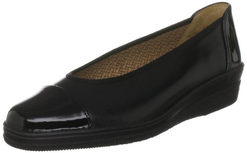 Gabor Women's Petunia Manmade Black Ballet 46.402.37 7 UK