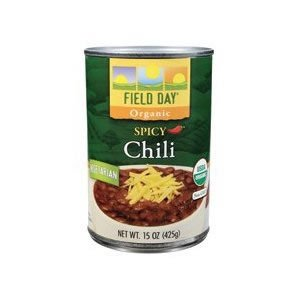 Field Day Organic Spicy Vegetarian Chili 15 Oz Pack Of 12 from Field Day