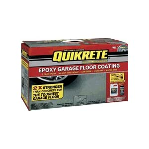 Painting Garage Floors: Valspar 002.0050020.022 Quikrete Epoxy Garage Floor Coating