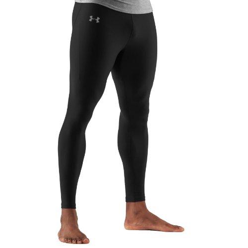 Men's ColdGear® Action Leggings Bottoms by Under Armour Large Black