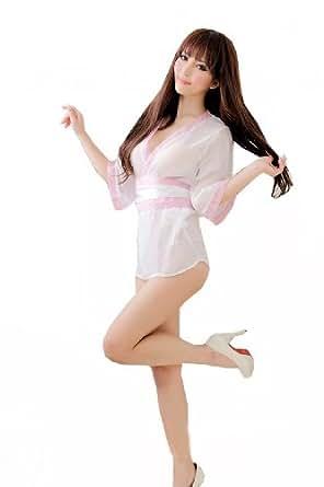 TM sexy lingerie Sakura Kimono Japanese Dress kimono Sleepwear Cosplay