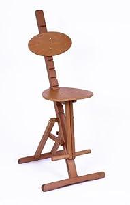 Mabef Adjustable Wooden Art Stool