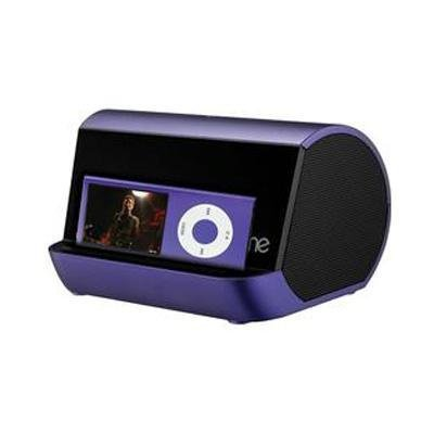 Ihome Ihm9 Portable Stereo System For Ipod, Iphone, And Mp3 Players (Purple)