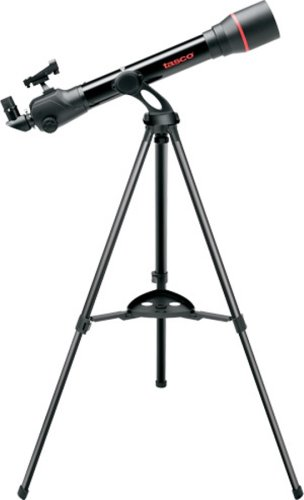 Tasco Spacestation 60X700Mm Refractor Az With Variable Led Red Dot Finderscope Telescope
