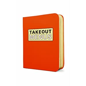 Knock Knock Takeout Menu Organizer