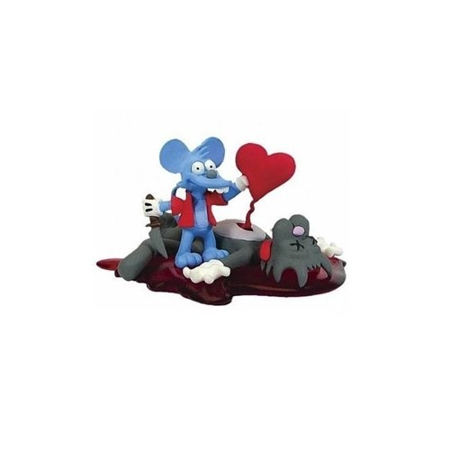 Simpsons Series 5 Valentines Day Itchy & Scratchy Bust-Ups Action Figure - 1