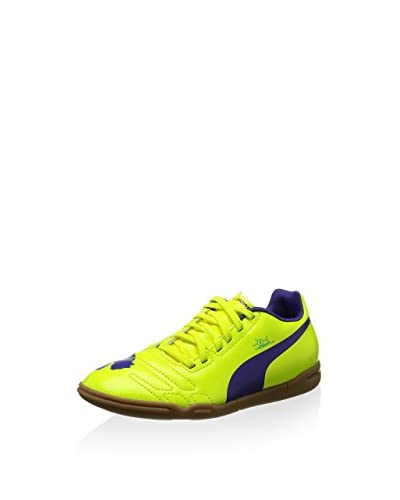 Puma Zapatillas de fútbol Evopower 4 It Jr Amarillo