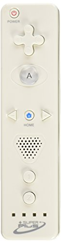 Tomee Super Plus Wireless Remote - White (Wii Enhanced Sensor Bar compare prices)