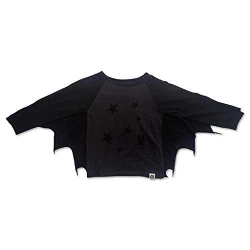 Mini Shatsu Bat Cape Long Sleeve Tee mini shatsu bat cape long sleeve tee