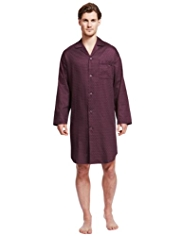 Pure Cotton Spotted Nightshirt