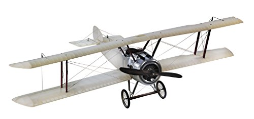 30-in-Wingspan-Transparent-Spad-Authentic-Bi-Plane-Model-Features-Handmade-Fabric-Covered-Frame-Original-Detailing-AP413T