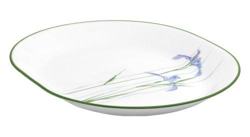 Corelle Impressions 12-1/4-Inch Serving Platter, Shadow Iris