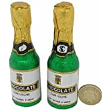 Chocolate Champagne Bottle Small (pack of 30)