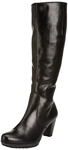 Gabor Willow Med L, Damen Stiefel, Schwarz (Black Leather (Micro) EU 40.5 (UK, 7.5)