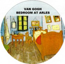 bedroom at arles van gogh big pin clothing