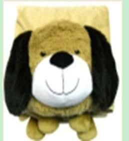 "PUPPY DOG BLANKET, ""PLUSH & PLUSH"" BRAND PILLOW PET"