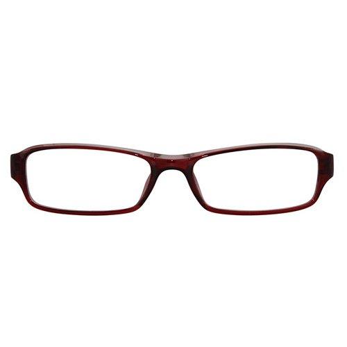 eyebuyexpress rectangle burgundy reading glasses