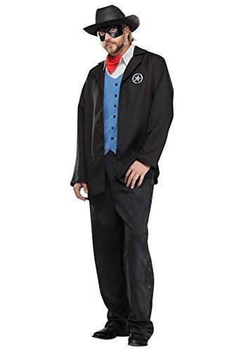 Funworld Mens Western Theme Party Fancy Dress Wild West Avenger Costume