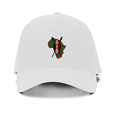 AFRICAN SHIELD Embroidery Embroidered Adjustable Hat Baseball Cap