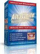 Altawhite Teeth Whitening Product - Dental Teeth Whitener for Whiter Teeth and Brighter Smile - 6 Kits