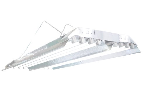 T5 Grow Light (4Ft 8Lamps) Dl848 Ho Fluorescent Hydroponic Bloom Veg Daisy Chain With Bulbs