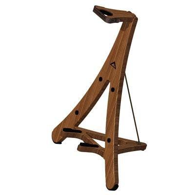 Ystemste Support Systems Axcel Wood Guitar Stand-Birch