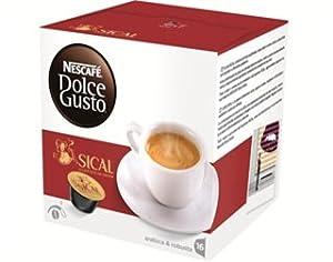 Nescafé Dolce Gusto Espresso Sical PORTUGUESE COFFEE - Box of 16 Capsules Pods