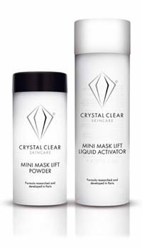 Crystal Clear Skincare Mini Lift Face Mask - Single Treatment