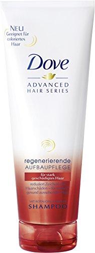 DOVE avanzata Serie Capelli Rigenerante Nutriente Shampoo, 2-pack (2 x 250 ml)