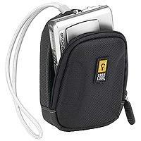 Caselogic QPB-1 Compact Digital Camera Case - Black/Gray