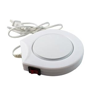 BestOfferBuy Electric Cup Coffee Tea Warmer 220V White