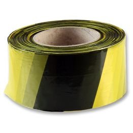 1 Roll PVC Heavy Duty Black Yellow TAPE Hazard Warning / Walkway Tape 50mmx33m