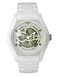Armani Ceramica Collection See-Through Dial Men's Watch #AR1415