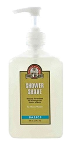 Brave Soldier Shower Shaving Lotion (8-Ounce)