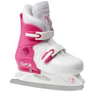 SFR Girls Adjustable Hardboot Figure Ice Skate - Jnr12 to 2