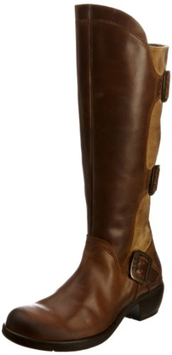 Fly London Women's Mynd Camel Knee High Boots P142310000 5 UK