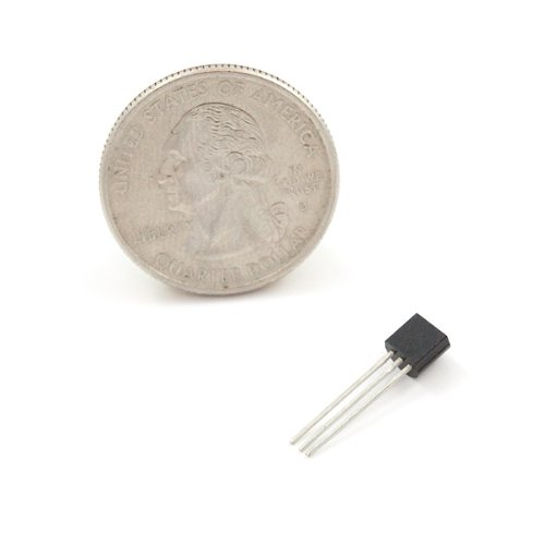 One Wire Digital Temperature Sensor - DS18B20 by SparkFun