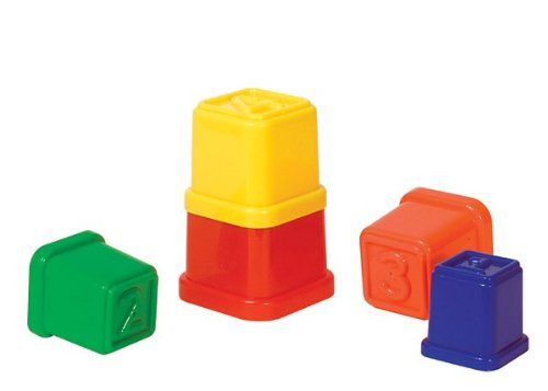 Guidecraft Stack'N Sort Cubes - 1
